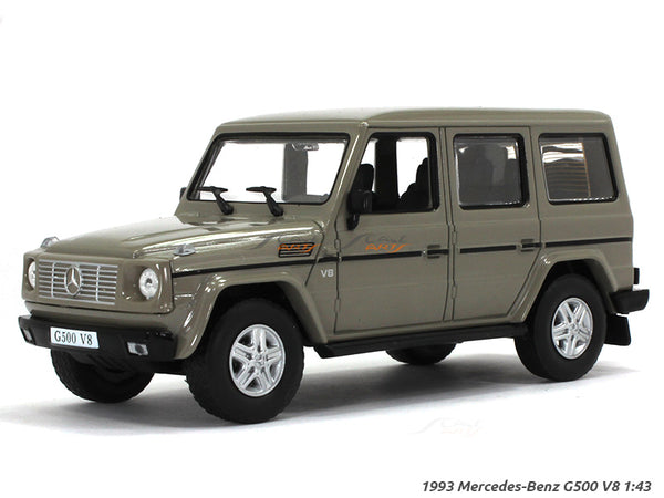 1993 Mercedes-Benz G500 V8 1:43 Whitebox diecast Scale Model Car