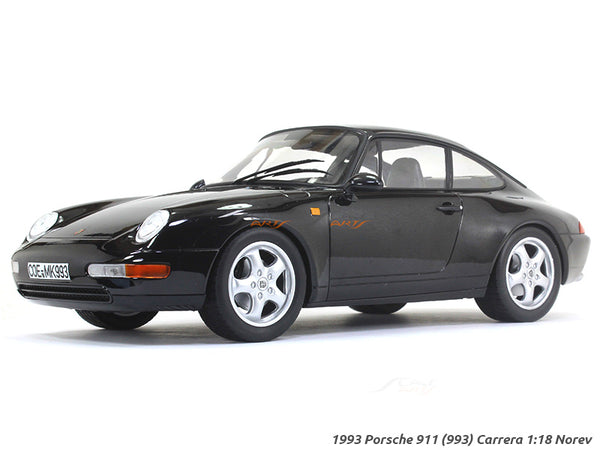 1993 Porsche 911 (993) Carrera 1:18 Norev diecast scale model car