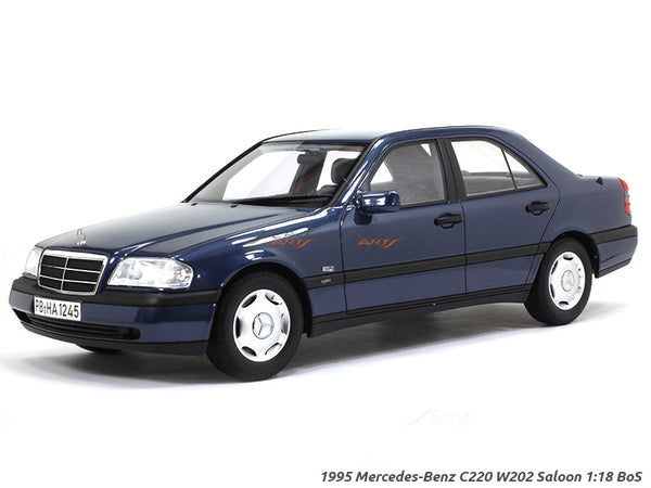 1995 Mercedes-Benz C220 W202 Saloon 1:18 BoS diecast Scale Model Car