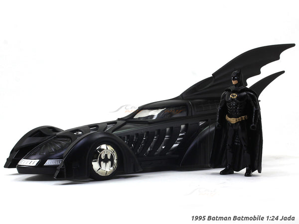 1995 Batman Batmobile 1:24 Jada diecast Scale Model car