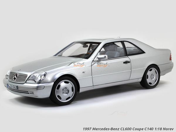1997 Mercedes-Benz CL600 Coupe C140 1:18 Norev diecast scale model car