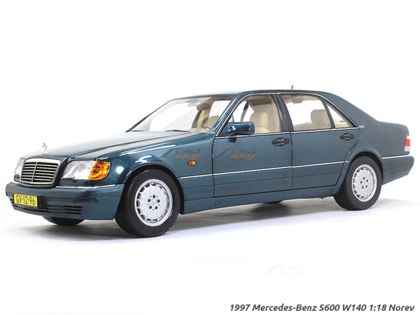 1997 Mercedes-Benz S600 W140 1:18 Norev diecast scale model car