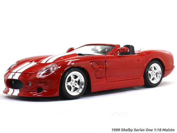 1999 Shelby Series One red 1:18 Maisto diecast Scale Model car