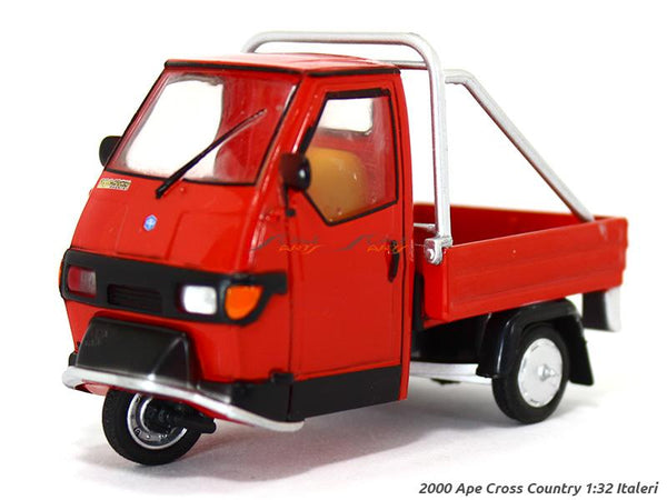 2000 Piaggio APE Cross Country 1:32 Italeri diecast scale model