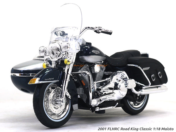 2001 FLHRC Road King Classic 1:18 Maisto diecast scale model bike