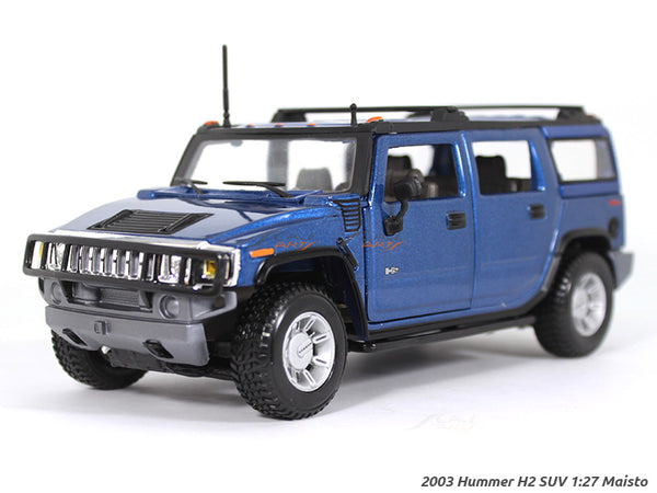 2003 Hummer H2 SUV 1:27 Maisto diecast Scale Model car