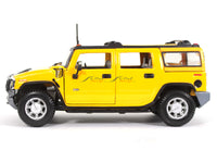 2003 Hummer H2 SUV Yellow 1:27 Maisto diecast Scale Model car