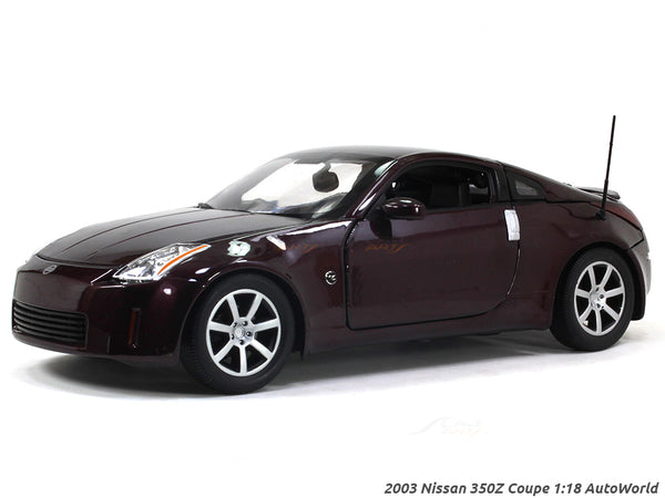 2003 Nissan 350Z Coupe 1:18 Auto World diecast scale model car