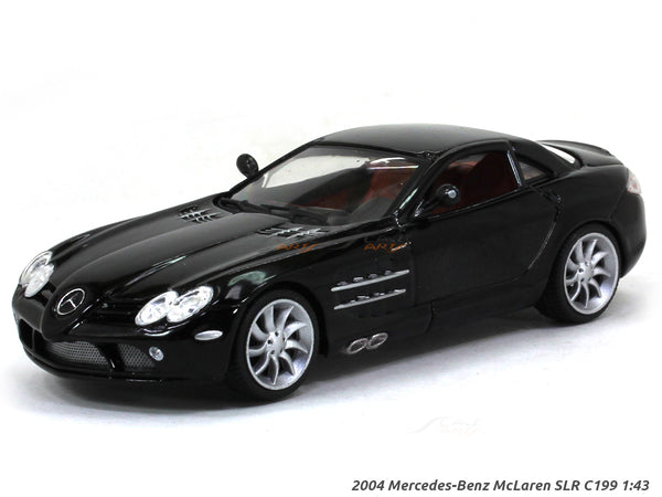 2004 Mercedes-Benz McLaren SLR C199 1:43 diecast Scale Model Car