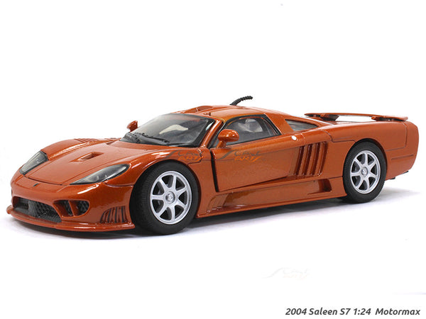 2004 Saleen S7 1:24 Motormax diecast scale model car
