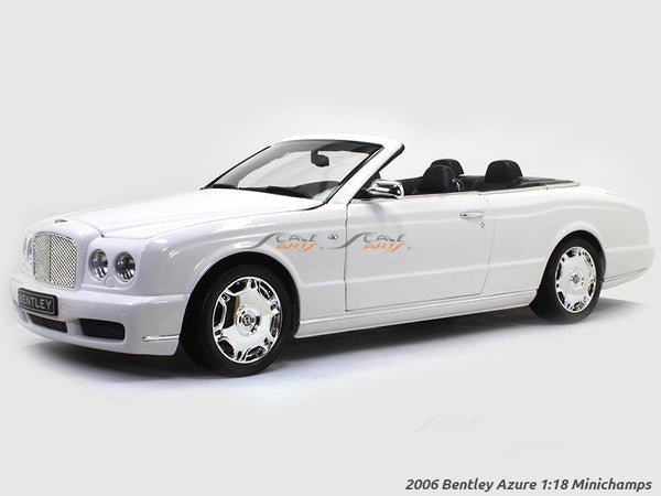 2006 Bentley Azure 1:18 Minichamps diecast scale model car