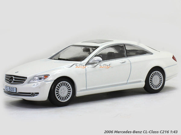 2006 Mercedes-Benz CL-Class C216 1:43 diecast Scale Model Car