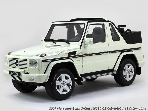 2007 Mercedes-Benz G-Class W230 GE Cabriolet 1:18 Ottomobile Scale Model car
