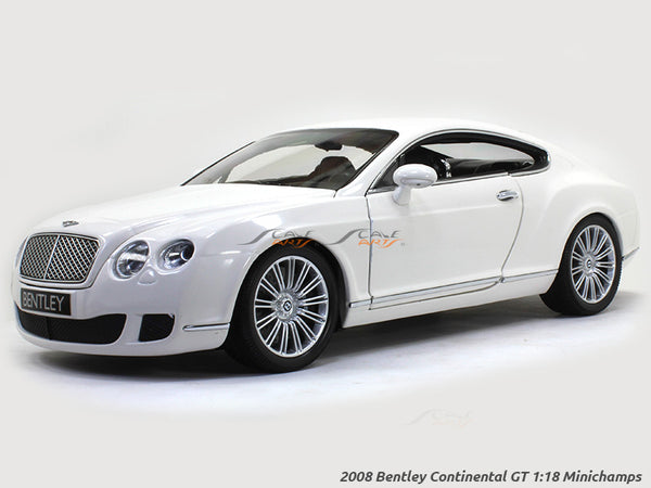 2008 Bentley Continental GT 1:18 Minichamps diecast scale model car