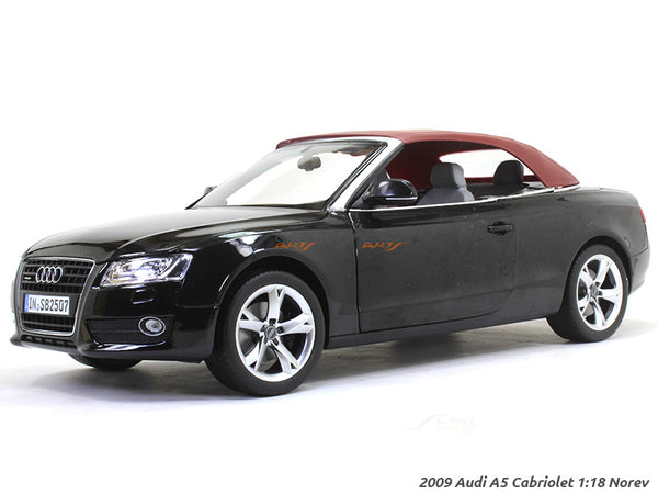 2009 Audi A5 Cabriolet 1:18 Norev diecast scale model car