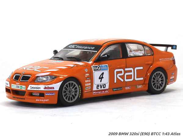 2009 BMW 320si E90 BTCC 1:43 diecast scale model car