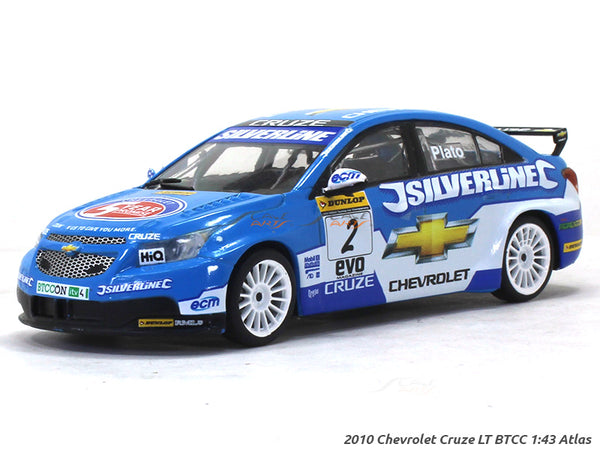 2010 Chevrolet Cruze LT BTCC 1:43 diecast scale model car