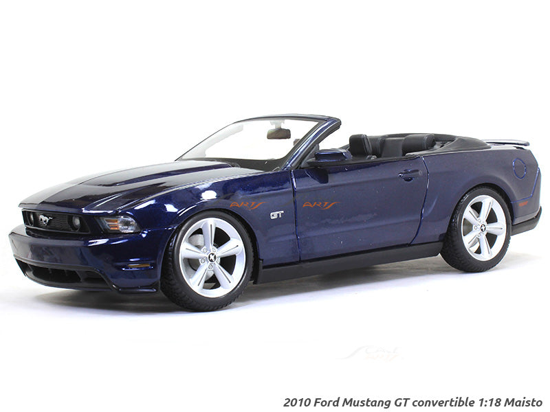 2010 Ford Mustang Gt Convertible 1 18 Maisto Diecast Scale