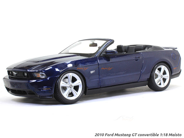 2010 Ford Mustang GT convertible 1:18 Maisto diecast Scale Model car