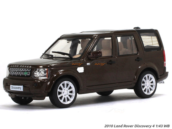 2010 Land Rover Discovery 4  1:43 Whitebox diecast Scale Model Car