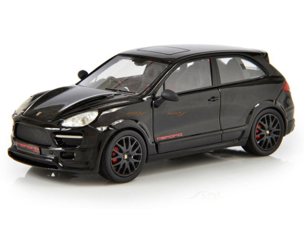 Prebook 2010 Porsche Cayenne 2 Door Coupe by Merdad black 1:43 Esval models scale car