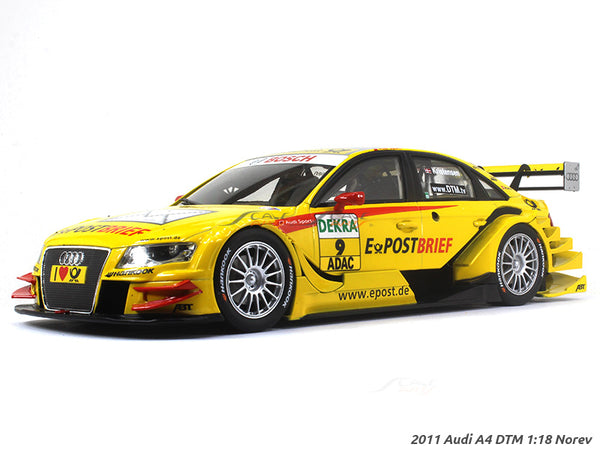 2011 Audi A4 DTM 1:18 Norev diecast scale model car