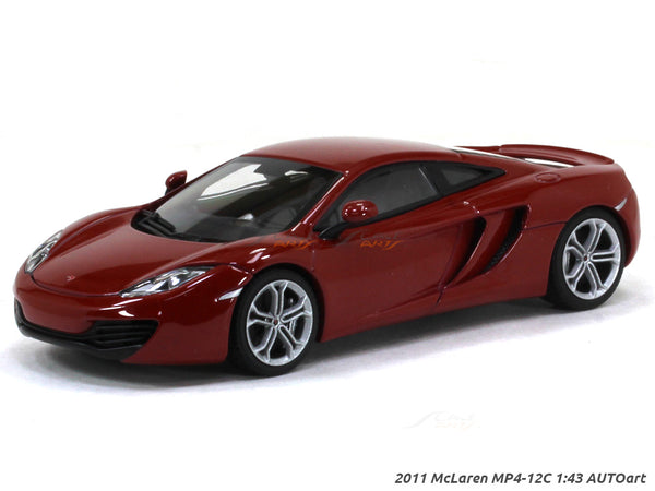 2011 McLaren MP4-12C 1:43 AUTOart diecast scale model car