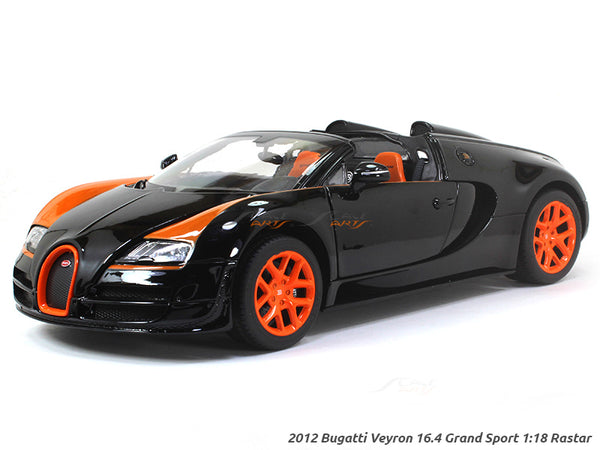 2012 Bugatti Veyron 16.4 Grand Sport 1:18 Rastar diecast scale model car