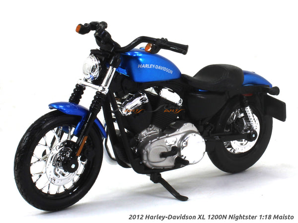 2012 Harley-Davidson XL 1200N Nightster 1:18 Maisto diecast scale model bike