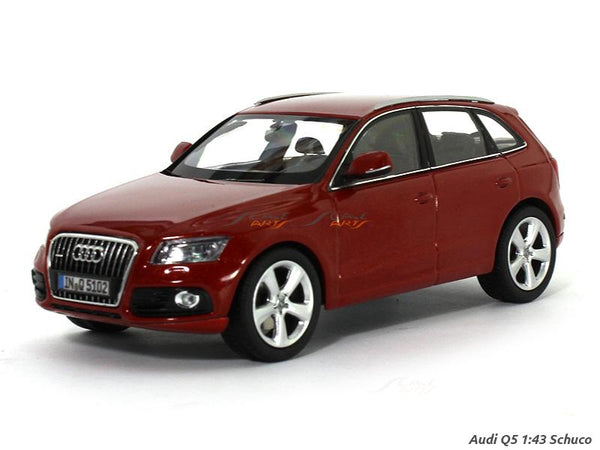 Audi Q5 red 1:43 Schuco diecast Scale Model car
