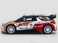 2013 Citroen DS 3 WRC 1:32 Bburago diecast Scale Model Car