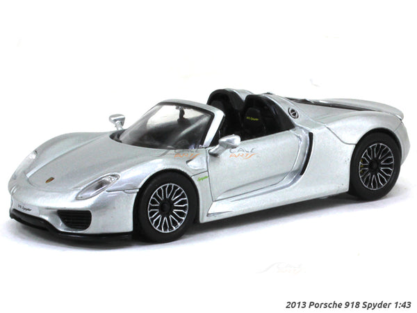 2013 Porsche 918 Spyder 1:43 diecast Scale Model Car