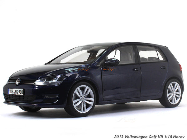 2013 Volkswagen Golf VII 1:18 Norev diecast scale model car