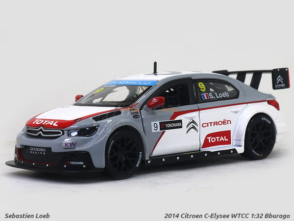 2014 Citroen C-Elysee WTCC 1:32 Bburago diecast Scale Model Car