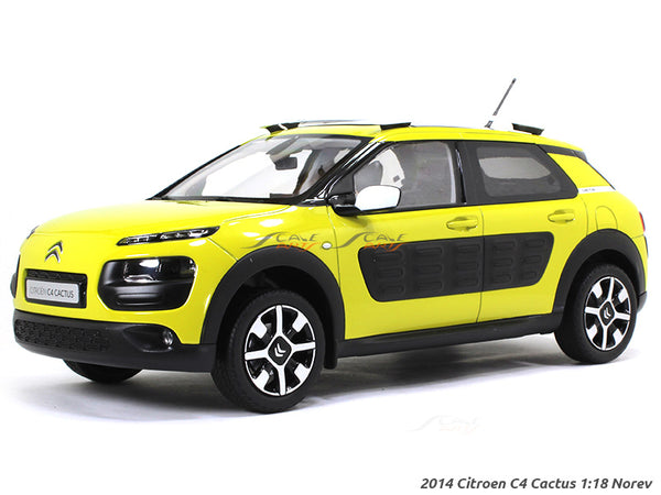 2014 Citroen C4 Cactus 1:18 Norev diecast scale model car