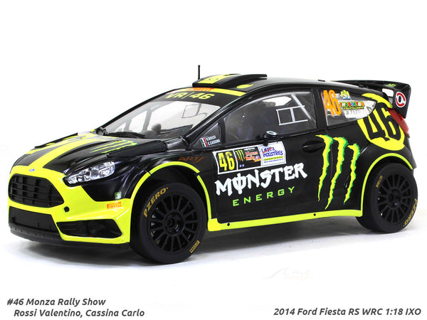 2014 Ford Fiesta RS WRC #46 Rossi Valentino 1:18 IXO diecast Scale Model Car