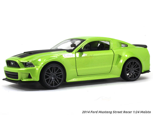 2014 Ford Mustang Street Racer 1:24 Maisto diecast scale model car