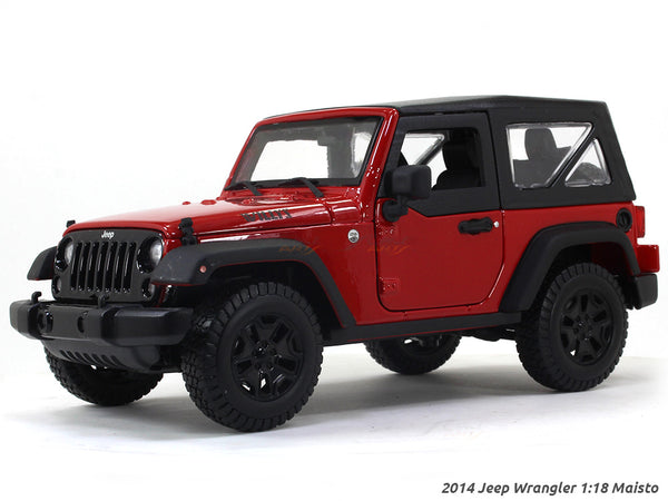 2014 Jeep Wrangler 1:18 Maisto diecast Scale Model car