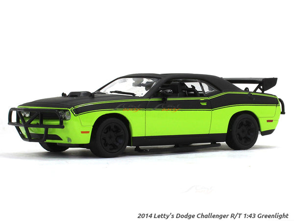 2014 Letty's Dodge Challenger R/T Fast n Furious 1:43 Greenlight diecast Scale Model car