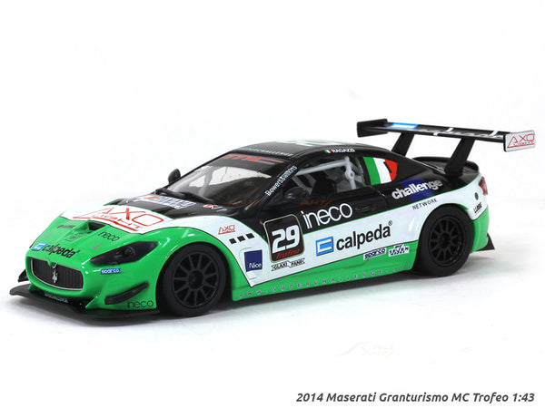 2014 Maserati Granturismo MC Trofeo 1:43 diecast Scale Model Car