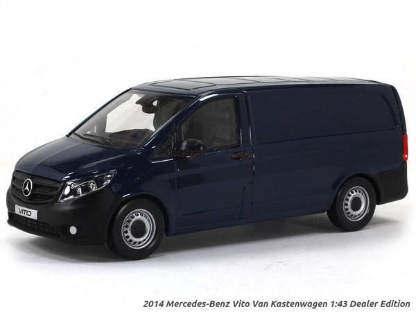 2014 Mercedes-Benz Vito Van Kastenwagen 1:43 Dealer Edition diecast Scale Model car