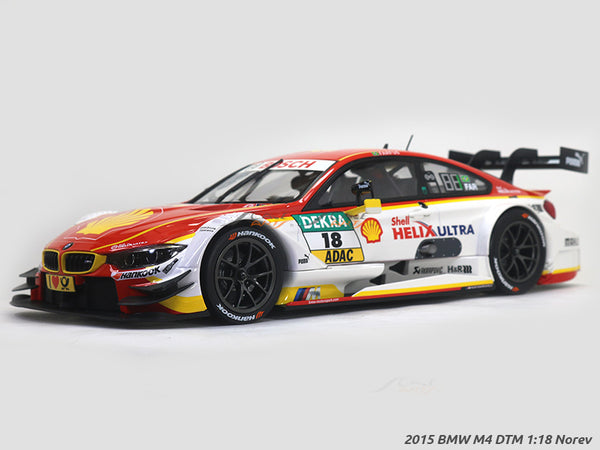 Pre-order 2015 BMW M4 DTM #18 1:18 Noerv diecast Scale Model Car