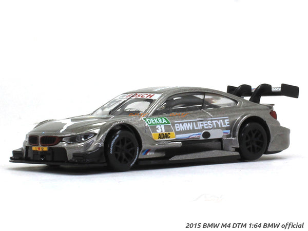 2015 BMW M4 DTM #31 1:64 BMW official diecast Scale Model Car