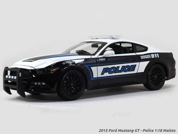 2015 Ford Mustang GT - Police 1:18 Maisto diecast Scale Model car