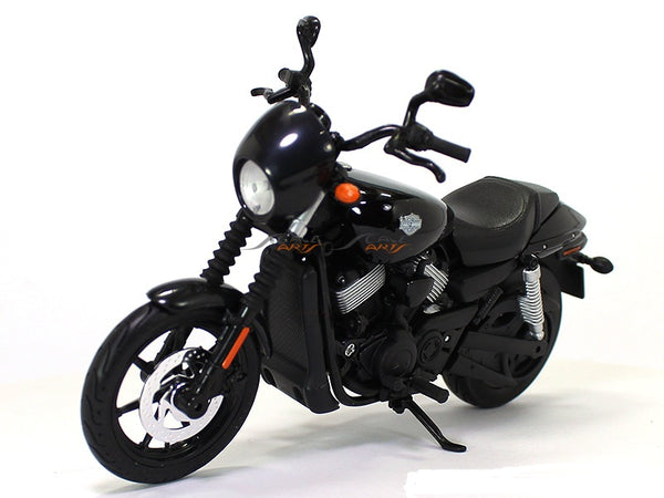 2015 Street 750 Black Harley Davidson 1:12 Maisto diecast Scale Model bike
