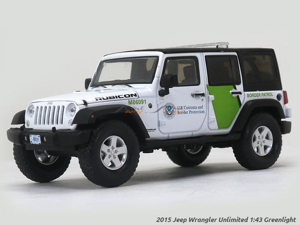 2015 Jeep Wrangler Unlimited 1:43 Greenlight diecast Scale Model car