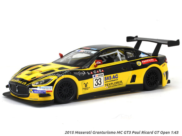 2015 Maserati Granturismo MC GT3 Paul Ricard GT Open 1:43 diecast Scale Model Car
