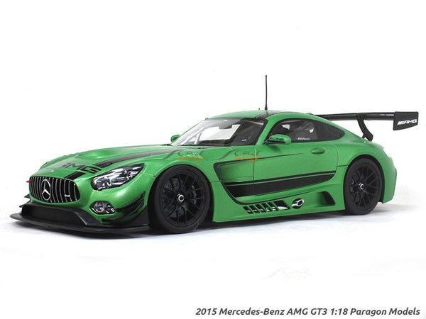 2015 Mercedes-Benz AMG GT3 1:18 Paragon Models diecast scale model car