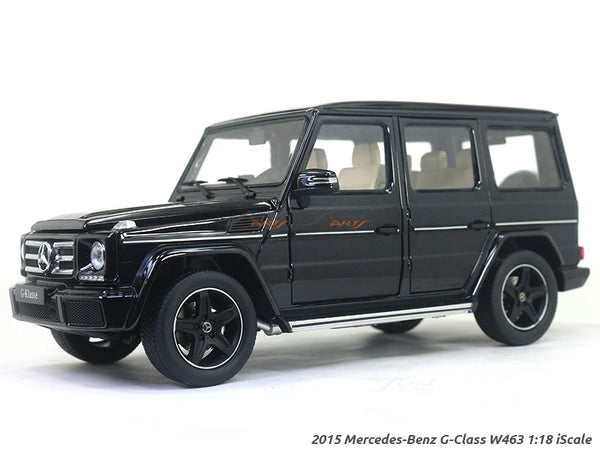 2015 Mercedes-Benz G-Class W463 black 1:18 iScale diecast Scale Model Car