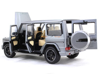 2015 Mercedes-Benz G-Class W463 gray 1:18 iScale diecast Scale Model Car